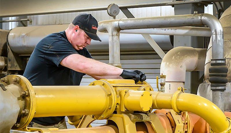 Photo environmental initiative gas to energy detail
